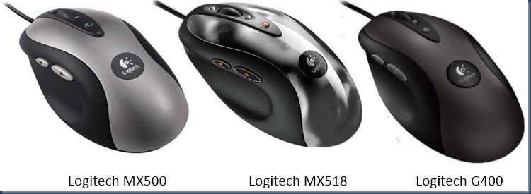 MX500 MX518 G400 mice